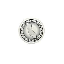 Riverside California LDS Mission Mini Button