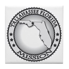 Tallahassee Florida LDS Mission Tile Coaster