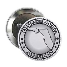 "Tallahassee Florida LDS Mission 2.25"" Button"