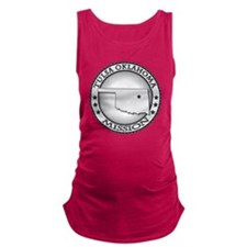 Tulsa Oklahoma LDS Mission Maternity Tank Top