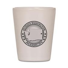 Spokane Washington LDS Mission Shot Glass
