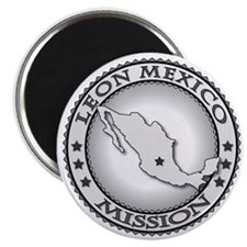 Leon Mexico LDS Mission Magnet