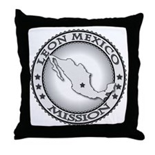 Leon Mexico LDS Mission Throw Pillow