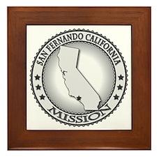 San Fernando California LDS Mission Framed Tile