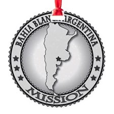 Bahia Blanca Argentina LDS Mission Ornament