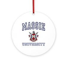 MASSIE University Ornament (Round)