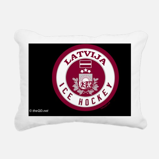 LV Hky10 ToiletryBg561_H Rectangular Canvas Pillow