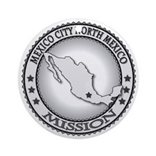 Mexico City North Mexico LDS Missio Round Ornament