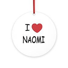 NAOMI Round Ornament