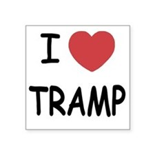 """TRAMP Square Sticker 3"""" x 3"""""""
