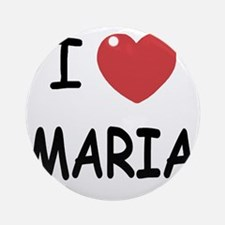 MARIA Round Ornament