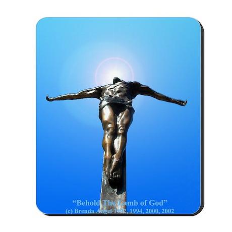 """""""The Lamb of God"""" Mousepad"""