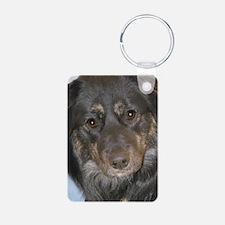 Australian Shepherd Photo Keychains