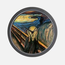 scream Wall Clock