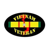 Vietnam service military ribbon Car Magnets