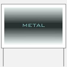 Metal post Yard Sign