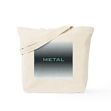 Metal square Tote Bag