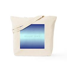 Blue sky ipad Tote Bag