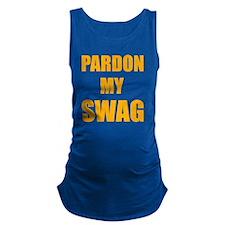 pardonSwag1E Maternity Tank Top