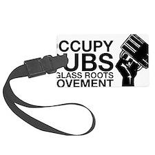 occupy_pub_tshirt_final Luggage Tag