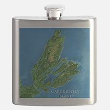CB biggest w water blurred + label Flask