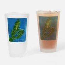 CB biggest w water blurred + label Drinking Glass