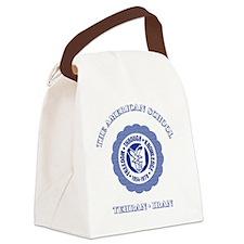 TASBlueNoteCard Canvas Lunch Bag