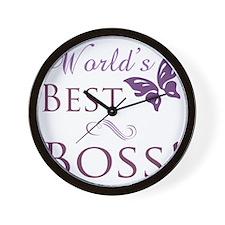 Butterfly_Boss Wall Clock