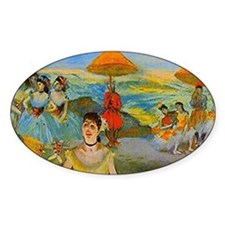 degas dancers at the beach travel g Decal