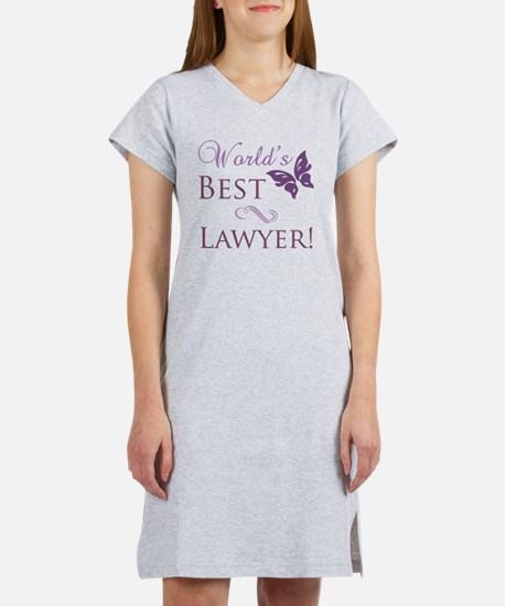 Butterfly_Lawyer Women's Nightshirt