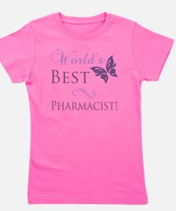 Butterfly_Pharmacist Girl's Tee