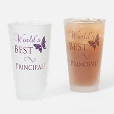 Butterfly_Principal Drinking Glass