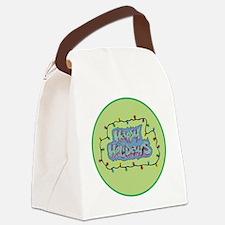 Holiday Burner Canvas Lunch Bag