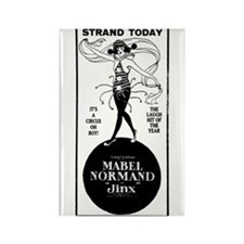 Mabel Normand Rectangle Magnet