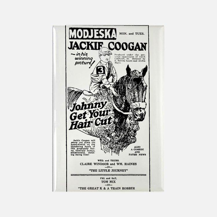 Jackie Coogan Rectangle Magnet