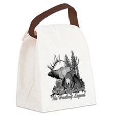grandpa a hunting legend Canvas Lunch Bag