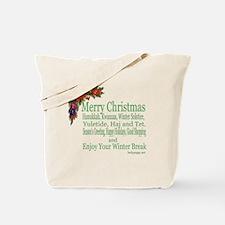 Merry_Christmas_PRETTY Tote Bag