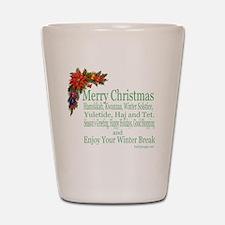 Merry_Christmas_PRETTY Shot Glass