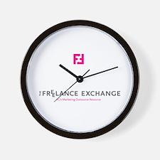 Funny 2009 logo Wall Clock