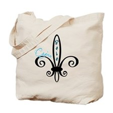cajunbebe_blue Tote Bag