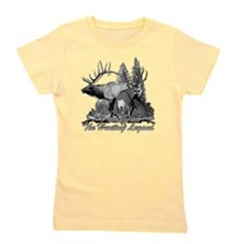Dad the hunting legend Girl's Tee