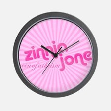 Zinnia-Jones-logo-mousepad Wall Clock