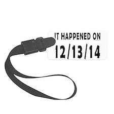 12/13/14 Luggage Tag