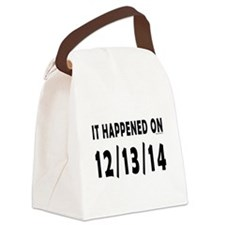 12/13/14 Canvas Lunch Bag