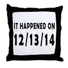 12/13/14 Throw Pillow