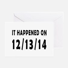 12/13/14 Greeting Cards (Pk of 20)