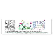 ThePlanMug Bumper Sticker