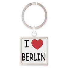 BERLIN Square Keychain