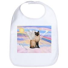 Siamese Cat Angel Bib