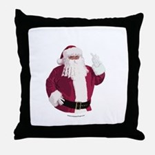 merry-xmas-dark Throw Pillow